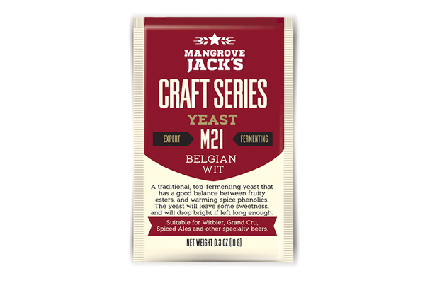 Дрожжи пивные Mangrove Jack's Belgian Wit M21