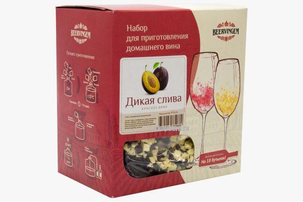 """Набор для приготовления вина Beervingem """"Дикая слива"""""""