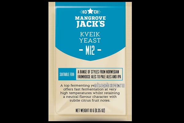 Дрожжи пивные Mangrove Jack's Kveik M12